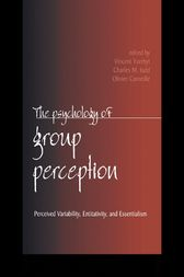The Psychology of Group Perception by Vincent Yzerbyt