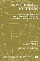 From Comrades to Citizens by Glenn Adler