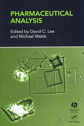 Pharmaceutical Analysis by David C Lee