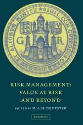 Risk Management by M. A. H. Dempster