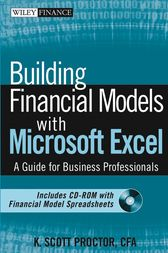 Building Financial Models with Microsoft Excel by K. Scott Proctor