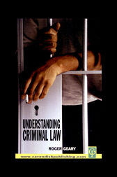 Understanding Criminal Law by Rodger Geary