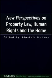 New Perspectives on Property Law by Alastair Hudson