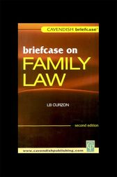 Briefcase on Family Law by L.B. Curzon