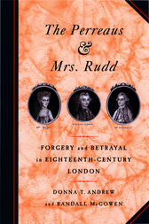 The Perreaus and Mrs. Rudd by Donna T. Andrew