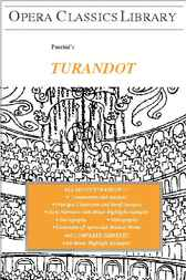 Puccini's TURANDOT by Burton D. Fisher