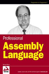 Professional Assembly Language by Richard Blum