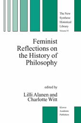 Feminist Reflections on the History of Philosophy by Lilli Alanen
