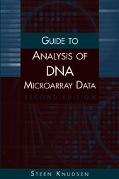 Guide to Analysis of DNA Microarray Data by Steen Knudsen