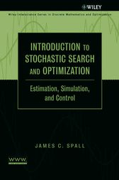Introduction to Stochastic Search and Optimization by James C. Spall