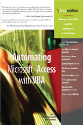 Automating Microsoft Access with VBA by Mike Gunderloy