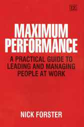 Maximum Performance by N. Forster