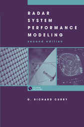 Radar System Performance Modeling by Richard Curry