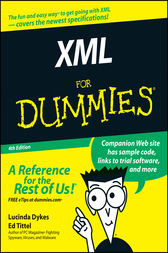 XML For Dummies by Lucinda Dykes