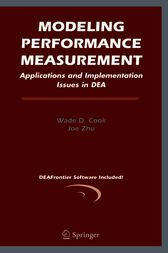 Modeling Performance Measurement by Wade D. Cook