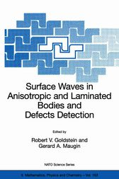 Surface Waves in Anisotropic and Laminated Bodies and Defects Detection by Robert V. Goldstein