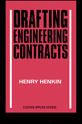 Drafting Engineering Contracts by H Henkin
