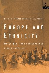 Europe and Ethnicity by Seamus Dunn