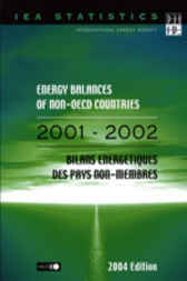 Energy Balances of Non-OECD Countries by Organisation for Economic Co-operation and Development