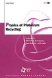 Physics of Plutonium Recycling by Organisation for Economic Co-operation and Development