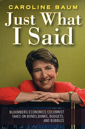 Just What I Said by Caroline Baum