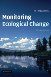 Monitoring Ecological Change by Ian F. Spellerberg