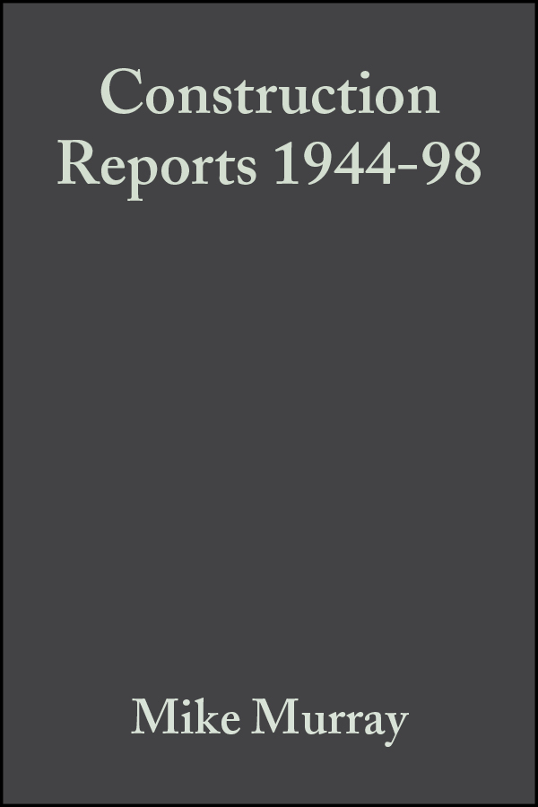 Download Ebook Construction Reports 1944-98 by Mike Murray Pdf