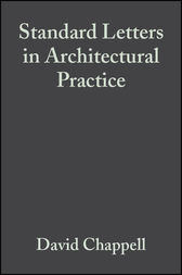 Standard Letters in Architectural Practice by David Chappell