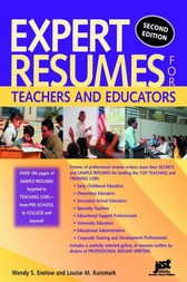 Expert Resumes for Teachers and Educators by Wendy S Enelow
