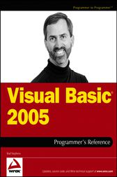 Visual Basic 2005 Programmer's Reference by Rod Stephens