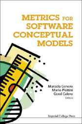 Metrics For Software Conceptual Models by Marcela Genero