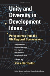 Unity and Diversity in Development Ideas by Yves Berthelot