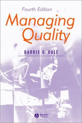 Managing Quality by Barrie G. Dale