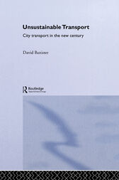 Unsustainable Transport by David Banister