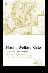 Nordic Welfare States in the European Context by Johan Fritzell