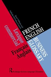 French/English Business Glossary by Nathalie McAndrew Cazorla