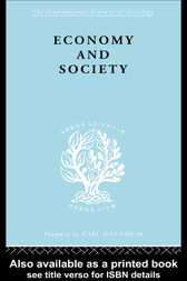 Economy and Society by Talcot Parsons