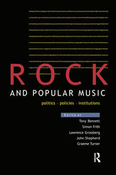 Rock and Popular Music by Tony Bennett