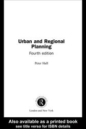 Urban and Regional Planning by Taylor and Francis