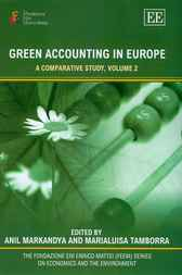 Green Accounting in Europe by A. Markandya