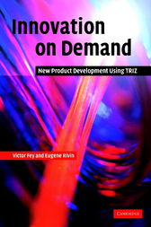 Innovation on Demand by Victor Fey