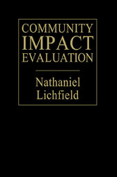 Community Impact Evaluation by Nathaniel Lichfield