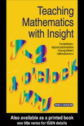 Teaching Mathematics with Insight by Anne D. Cockburn