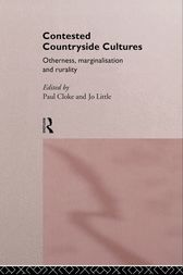 Contested Countryside Cultures by Paul Cloke