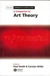 A Companion to Art Theory by Paul Smith