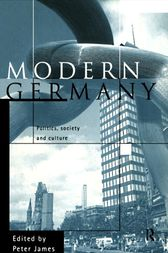 Modern Germany by Peter James