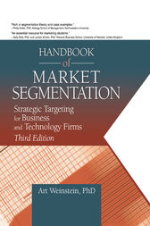 Handbook of Market Segmentation by Art Weinstein