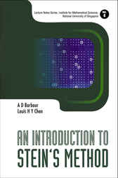 An Introduction To Stein's Method by A. D. Barbour