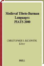Medieval Tibeto-Burman languages by C.I. Beckwith