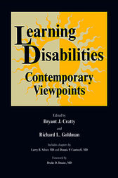 Learning Disabilities by Brian J. Cratty